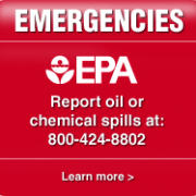 EPA Phone # to report spills 800-424-8802